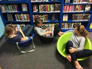 Bucket Chair Girls!