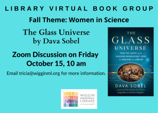 Library Book Group The Glass Universe