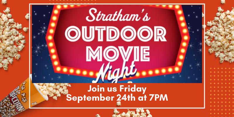Outdoor Movie Friday 9/24